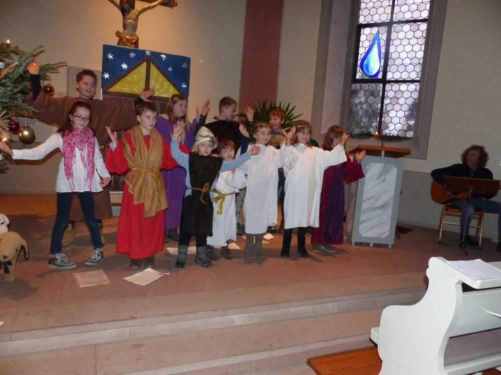 Ökumenischer Gottesdienst in Dundenheim an Heiligabend mit ...